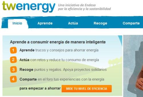 twenergy1 - Twenergy: aprende a consumir energía de manera inteligente