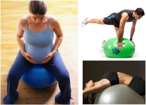 pelota triple - Pelota gigante con la revista Sport Life por 6,95 euros. Adecuada para hacer deporte, Pilates, para el embarazo, para el PARTO y para jugar