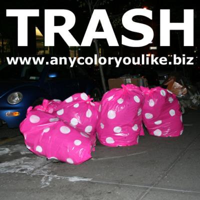 trash bolsas de basura de diseño