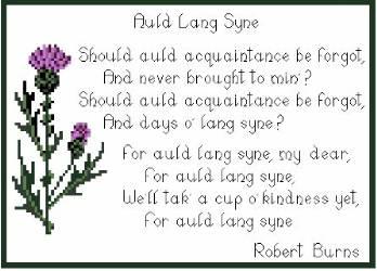 auld lang syne - AULD LANG SYNE: canción tradicional escocesa de despedida y año nuevo que acompañó el final de la antigua civilización de Lemuria