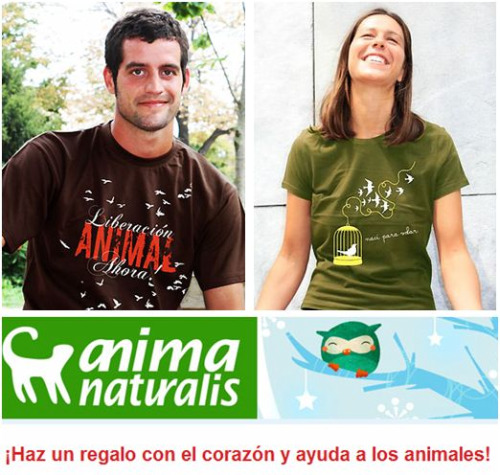 camisetas anima naturalis