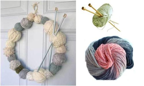 guirnalda de lana