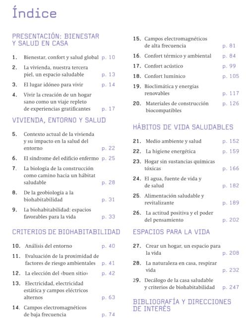 index casa saludable - Casa Saludable. Cómo hacer de tu hogar un entorno más sano. Libro de Elisabet Silvestre y Mariano Bueno