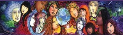 circulos mujeres - Encuentro de comadres y doulas en Murcia del 11 al 14 de febrero del 2010 sobre el mundo femenino y la crianza