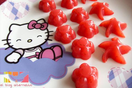 gominolas - Receta de caramelos de goma naturales