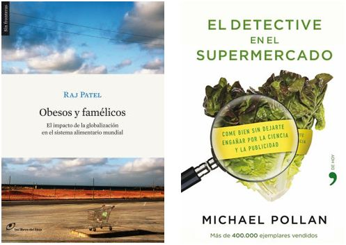libros1 - obesos y famelicos, detective supermercado
