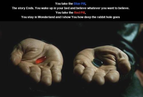 pastilla - La píldora roja