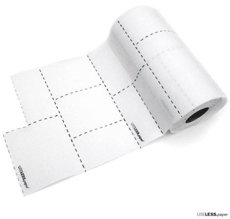 useless paper - Productos USELESS de Nika Rams en pro del consumo responsable
