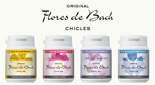 chicles de flores de bach