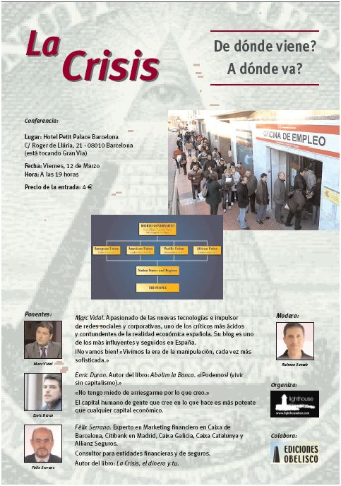 la crisis conferencia