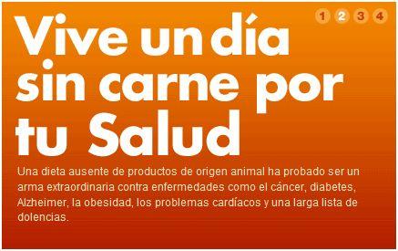 dia sin carne2 - Día Sin Carne 2010: cuatro motivos importantes