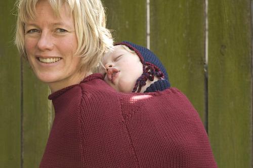mamaponcho - Mamajacket y mamaponcho: juntitos y abrigaditos