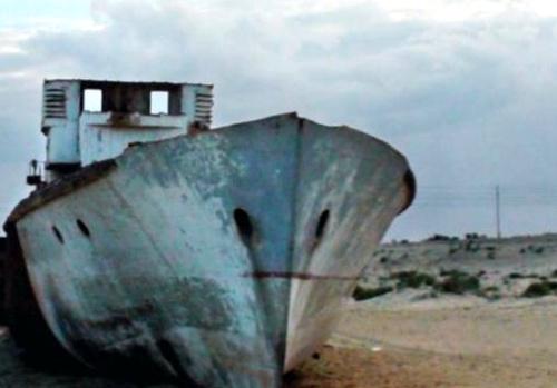 mar de aral - La agonía del Mar de Aral