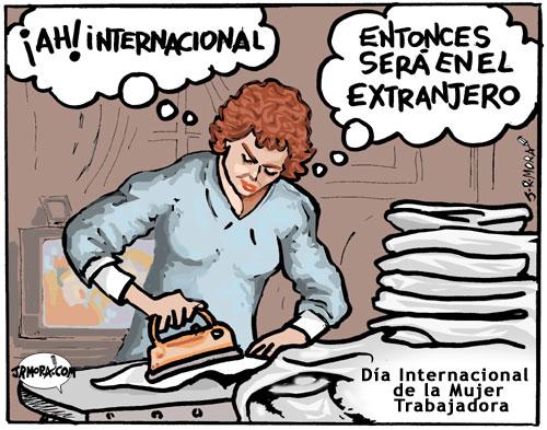 mujer internacional - dia-mujer trabajadora