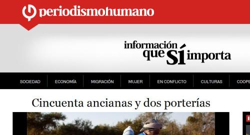 periodismohumano - Nace periodismohumano, información que sí importa