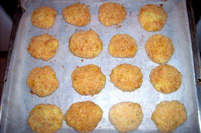 tortitas - Delicias de patata, puerros y queso