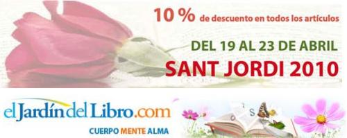 el jardin del libro descuento dia del libro 2010 - Descuento del 10% en en El Jardín del Libro