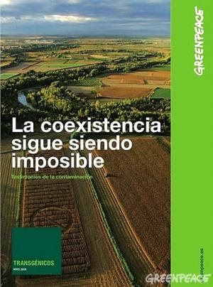 portada del informe la coexis - Todas las preguntas sobre transgénicos explicadas por Juan-Felipe Carrasco de Greenpeace