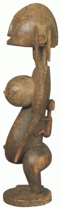 figura femenina1 - figura-femenina Bambara Mali