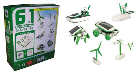 kit solar educativo 6 en 1 - kit solar educativo 6 en 1