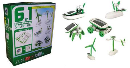 kit solar educativo 6 en 11 - Kit 6 en 1: juguetes solares