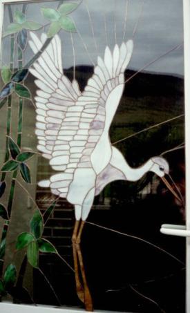 vidrio ciguenadetalle - vidrio agustin aguirre