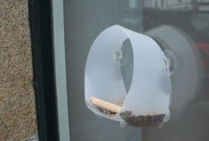comedwero granmola - Comedero para pájaros casero