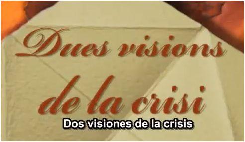 dos visiones - Dos visiones de la crisis: los economistas disidentes Santiago Niño Becerra y Marc Vidal hablan con claridad sobre la economía que llega