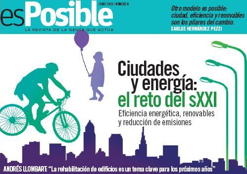 esposible numero 6 ciudades y energia - esPosible numero 6 ciudades y energia