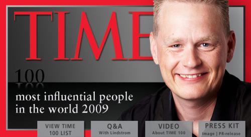 """martinlindstrom time100 - """"Para ahorrar, vaya a comprar sin hambre, sin sueño y sin niños"""". Entrevista a Martin Lindstrom, pionero del neuromarketing"""