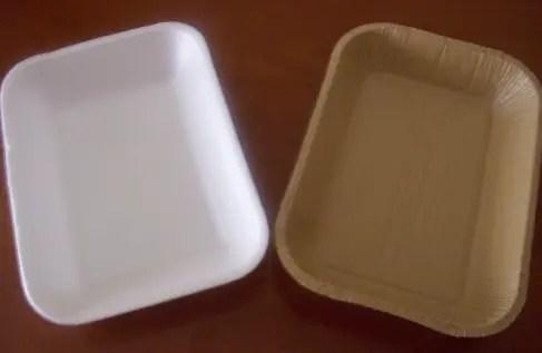 Bandeja plástica vs bandeja cartón reciclado - SAICA FORM: el envase alimentario reciclado, reciclable, biodegradable y sostenible