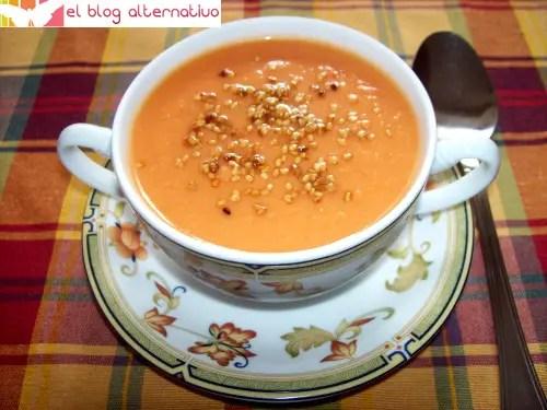 gazpacho de mango - gazpacho de mango