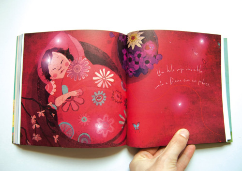 hijos-de-colores: libro de adopción. Ilustración Conrad Roset