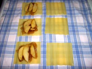 ravoilis2 - Raviolis de manzana y cebolla confitada con piñones
