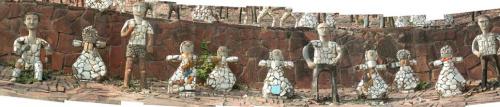 rock garden 3 - Un bello jardín a partir de desechos
