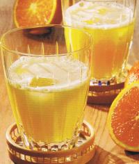te helado de naranja con tonica - INFUSIONES: 50 fichas de recetas