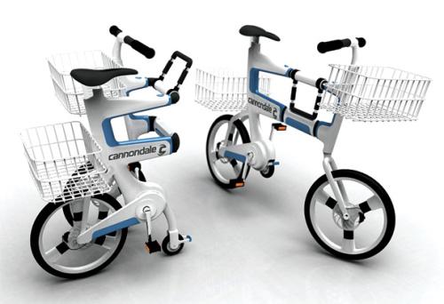 ville 1 - VILLE: la bicicleta que se convierte en carrito para la compra