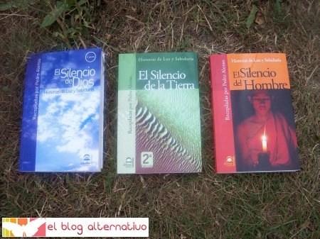 """Luz y Sabiduria Libros1 - Entrevista a Pedro Alonso, autor de 3 libros de historias y cuentos de """"Luz y Sabiduría"""""""