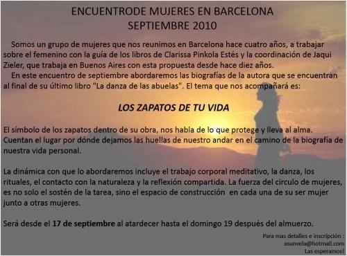 zieler2 - JAQUI ZIELER en Barcelona en septiembre 2010: consultas, conferencias y talleres sobre bebés y el inicio de la vida y la obra de Clarissa Pinkola Estés
