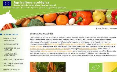 Agricultura ecologica - Agricultura ecológica - Web informativa de la Comisión Europea