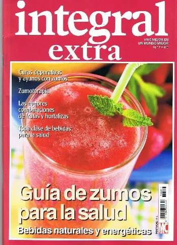 Integral Extra Zumos Portada1 - Integral Extra guia de zumos para la salud