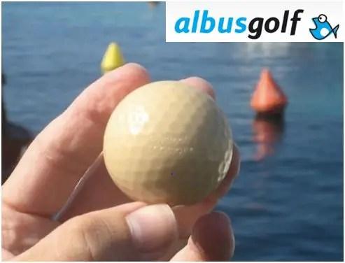 ecobioball pelota golf ecológica