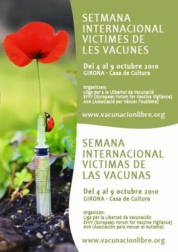 semana internacional víctimas vacunas 2010