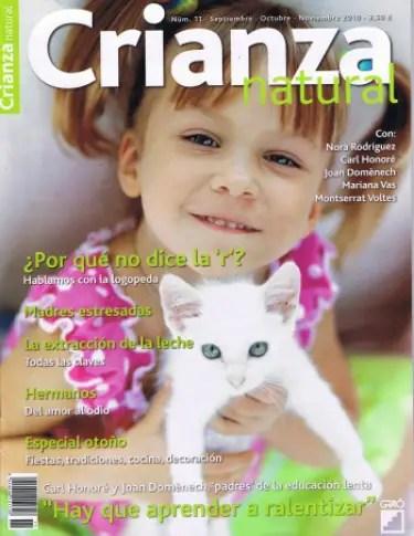 Crianza Natural 11 - Revista Crianza Natural nº 11: La educación lenta y Culturilla que alimenta
