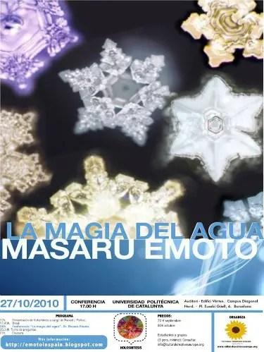 masaru emoto barcelona2010 - Masaru Emoto en Barcelona 2010