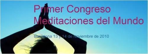 meditacion - Congreso Meditaciones del Mundo en Barcelona