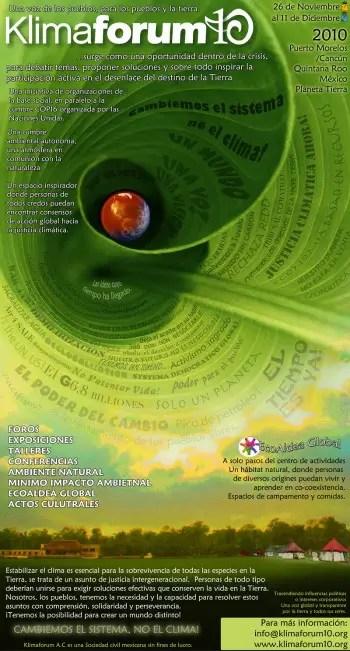 KLIMAFORUM10b - KLIMAFORUM10 en Cancún: Cambiemos el Sistema, no el clima