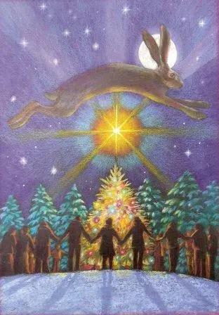 YuleCircle - LUNA NUEVA DE NIEVE: ritual de La Diosa en Barcelona 4 diciembre 2010