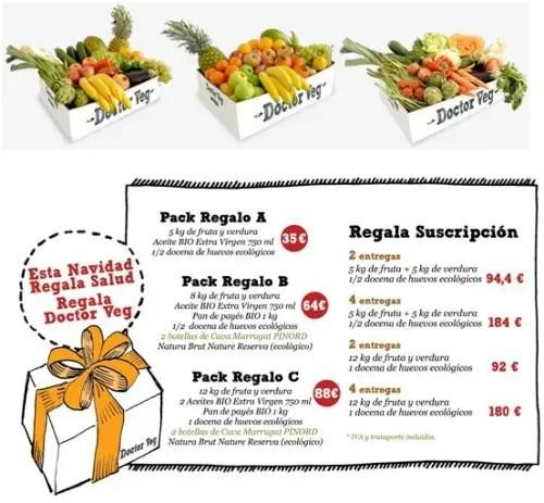 cestasb1 - Regalar salud: cestas de fruta y verdura ecológica por Navidad