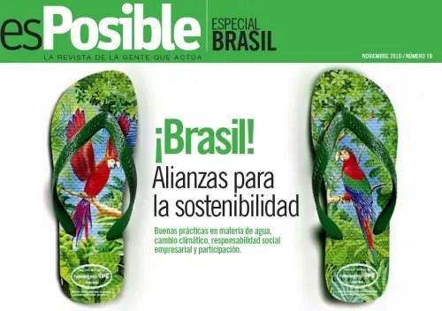 esPosible numero 10 Brasil - Revista esPosible nº 10. ¡BRASIL! Alianzas para la sostenibilidad